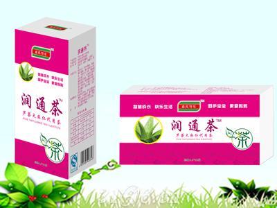 润通茶芦荟火麻仁代用茶