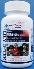 百合国际 国食健字螺旋藻片