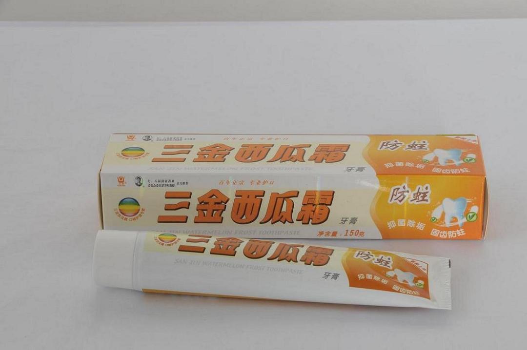 三金西瓜霜-防蛀