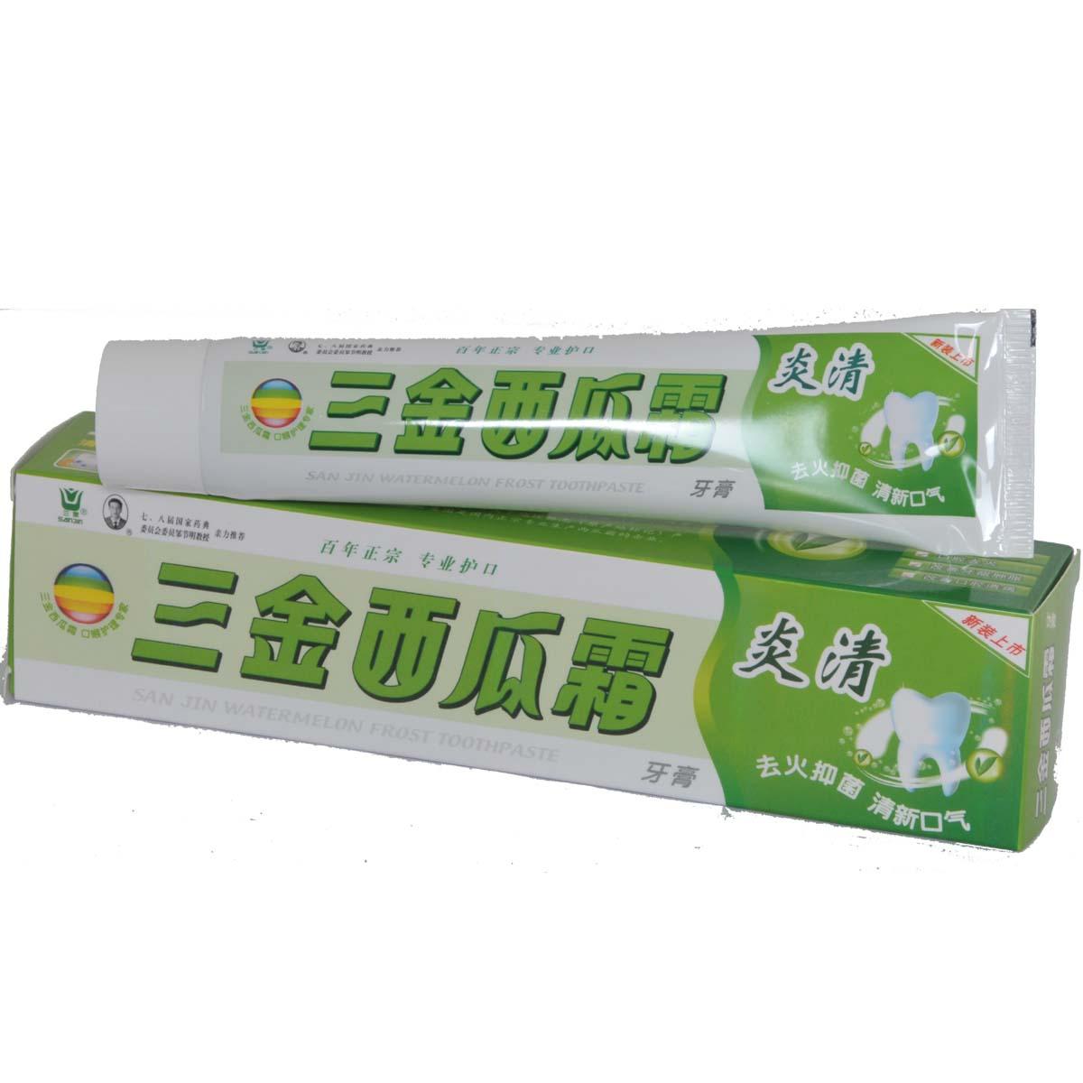 三金西瓜霜-炎清牙膏
