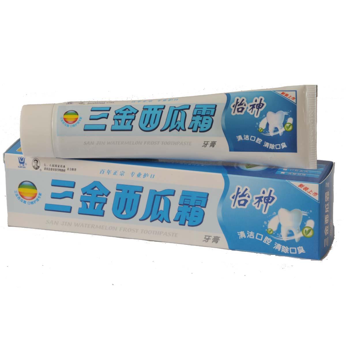 三金西瓜霜-怡神牙膏