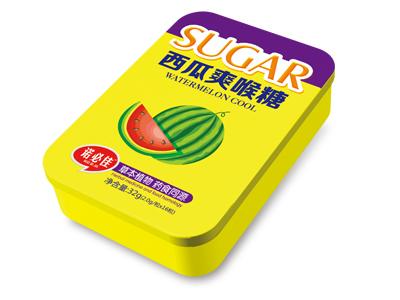 西瓜爽喉糖
