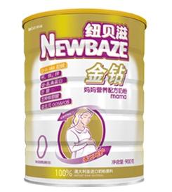 纽贝滋金钻妈妈营养配方奶粉