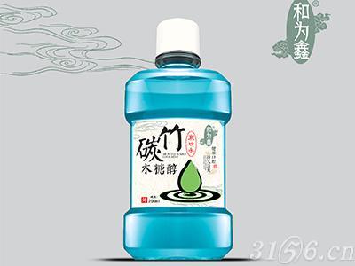 竹碳木糖醇漱口水
