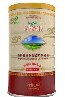 佰必佳高钙富硒多维配方羊奶粉