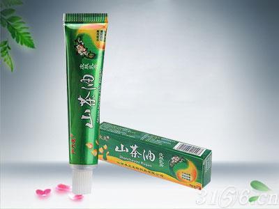 山茶油皮肤乳膏