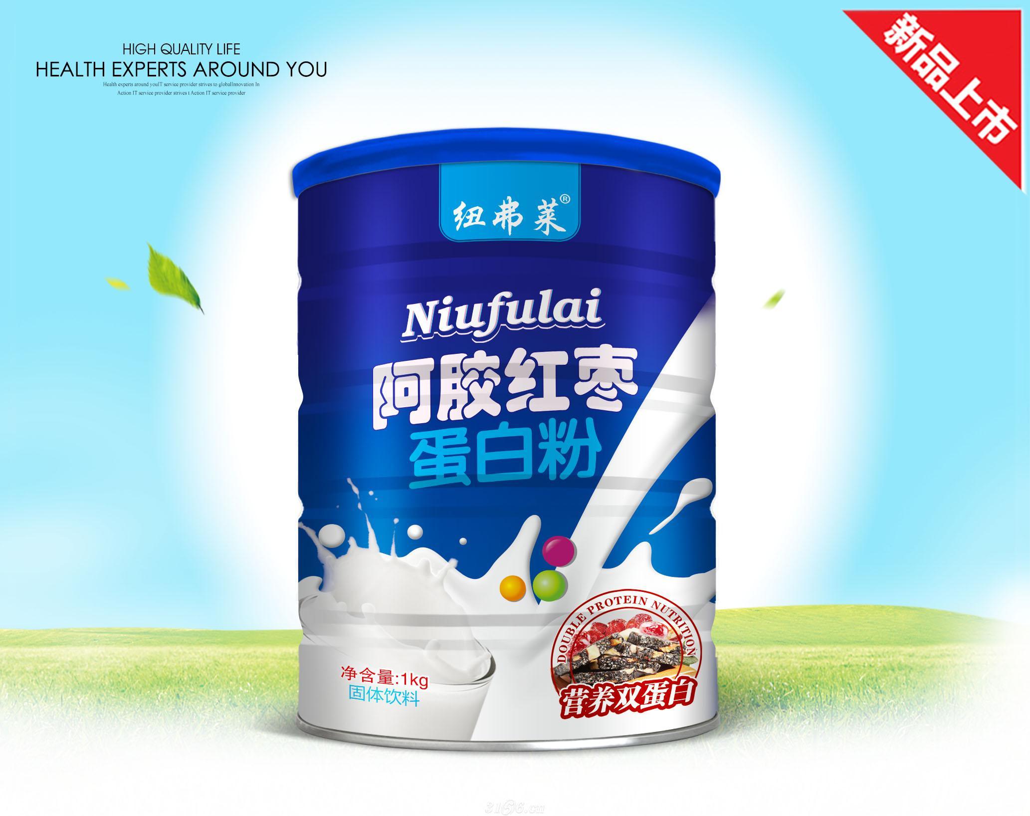 阿胶红枣蛋白粉