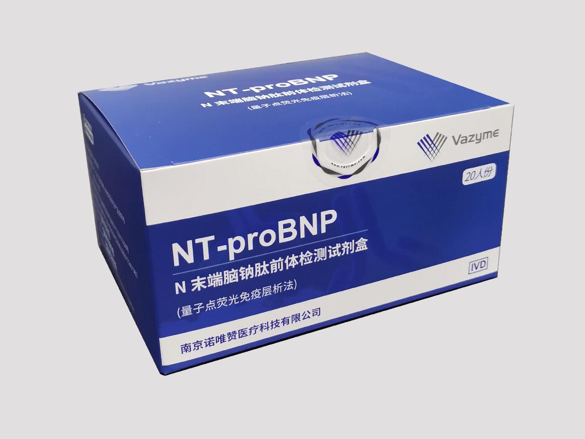 N末端脑钠肽前体检测试剂盒(量子点荧光免疫层析法)