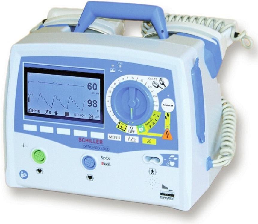 瑞士席勒救护车急救转运多功能除颤监护仪DG4000