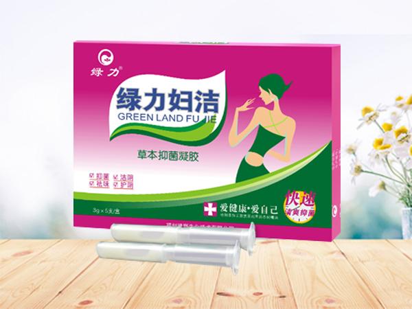 綠力婦潔草本抑菌凝膠